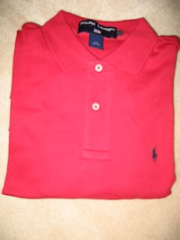 Women's RALPH LAUREN RED POLO SHIRT Toronto