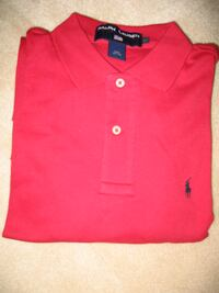 Women's RALPH LAUREN RED POLO SHIRT