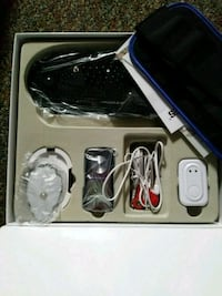 black and gray corded electronic device 3252 mi