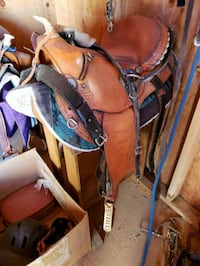 brown and black leather golf bag Payson, 85541