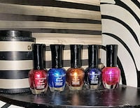 four assorted color nail polish bottles Providence, 02909