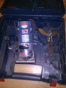 Bosch router with bit