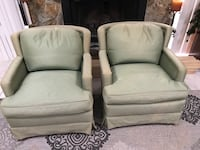 2 fabric chairs  Palm Harbor, 34683