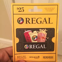 regal $25 ticket Gaithersburg, 20878