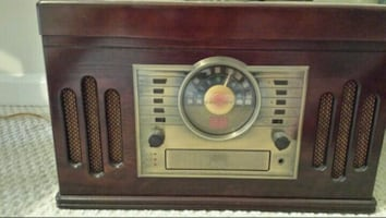 Old School Record CD Player