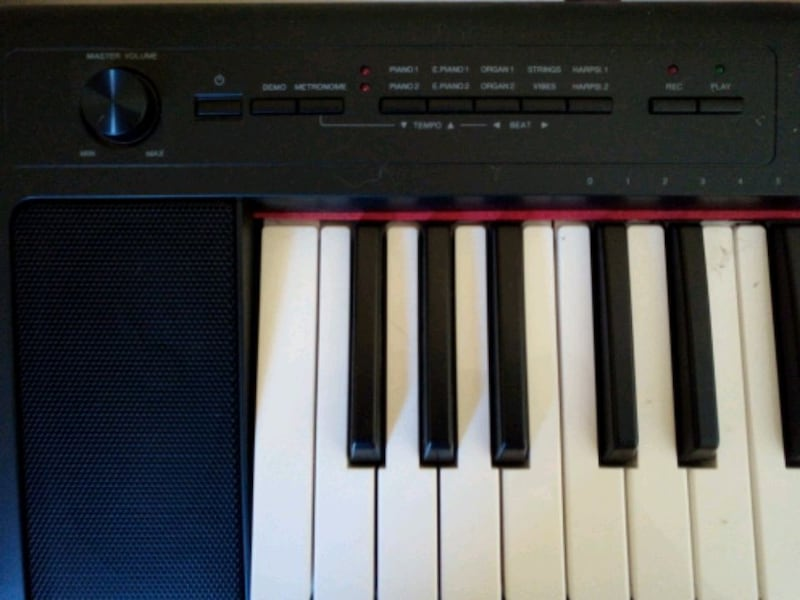 72-Key Yamaha Piaggero NP-32 with All Accessories 4012cdab-5e84-4c4f-bf09-ce8b37bf2673