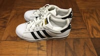 white-and-black Adidas Superstar Alexandria, 22302