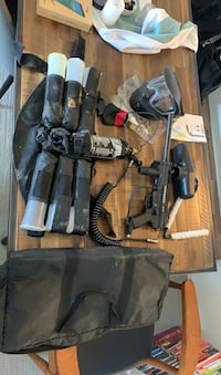 Tippman A5 paintball set. All you need for paint balling!
