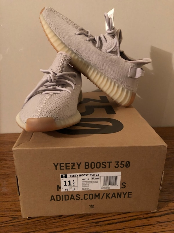5cf78f84ca477 Used Sesame Yeezys size 11.5 never worn for sale in Oxon Hill - letgo