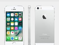 Silver iphone 5s with case