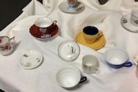 Vintage demitasse cups and saucers Sioux Falls, 57104