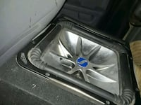 black and gray Kicker subwoofer Los Angeles, 91324
