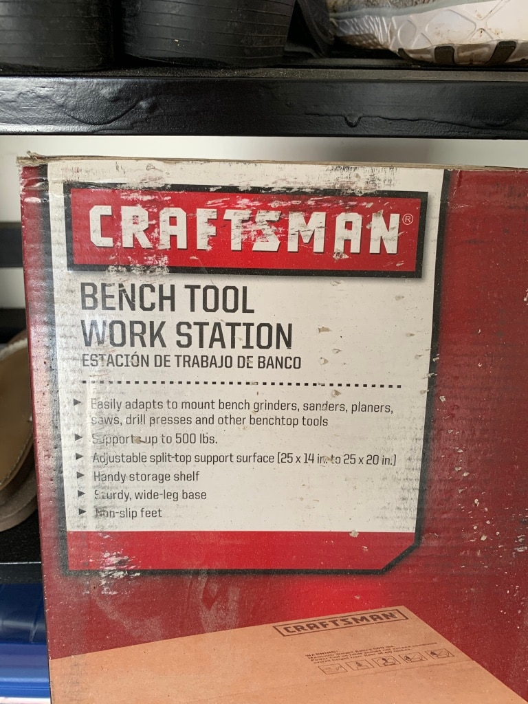 Photo BRAND NEW Craftsman Bench Tool Work Station