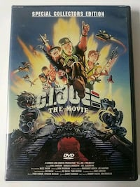 G.I. joe the movie dvd