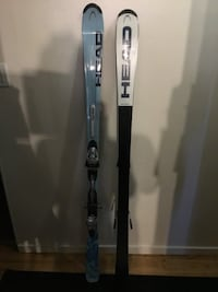 Head Women's Skis/ Length 163 / C150 w/ Tyrolia SLD 11 Bindings New Westminster, V3L 1E7
