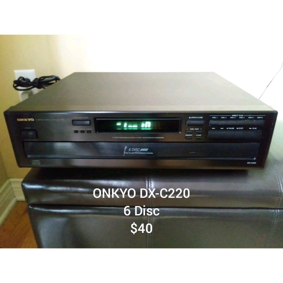 CD and DVD Player