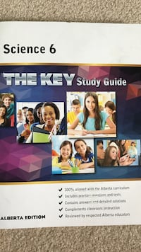 Science 6 the key study guide book