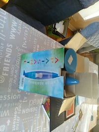 blue lava lamp with box Laval, H7T 2A4