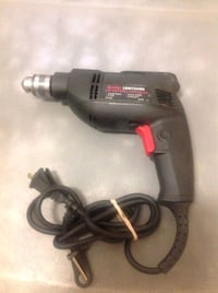 "Sears Craftsman 3/8"" Corded reversible drill Caledon, L7E 1X7"