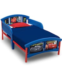 Toddler Bed (Cars Theme)