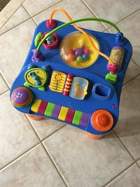 Kids activity table with music