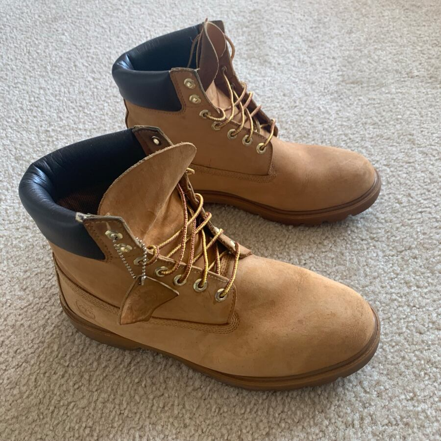 Mens Wheat Timberland Boots Size 11.5 (Used) 61629c87-8b41-411d-8067-990231d3bc7e