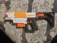 white and black plastic nerf gun Temecula, 92591