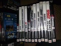 Ps2 sport titles $5 each  Toronto, M4J 3T2