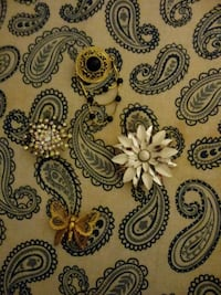 white and black floral textile Canton, 44708