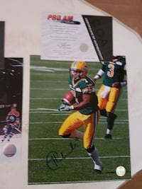 Hugh Charles Autographed 8x10 Photo For Sale