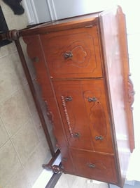 brown wooden 2-drawer chest Bowmanville, L1C 0B2