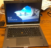 "HP 8460w Mobile Workstation - 14"" laptop i7,16GB Ram, SSD Vaughan"