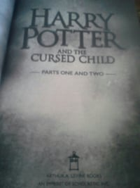 Harry Potter and the Cursed Child parts one and two book