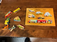 Fisher Price Wooden Puzzle #508