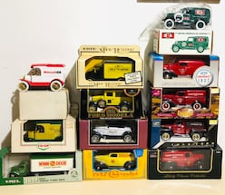 Vintage Hard-to-Find Die Cast Bank Trucks!
