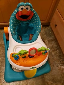BABY WALKER WITH WHEELS AND SEAT