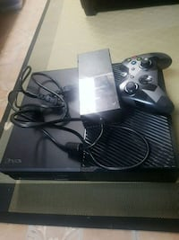 Black xbox one with controller London, N6E 2S2