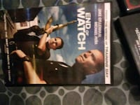 End of Watch DVD case Victoria, 77901
