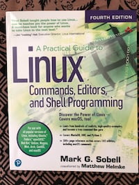 Practical  guide to linux commands editors and shell programming Toronto, M2J