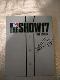 PS4 Game the show 17 MVP edition metal case Freeport, 11520