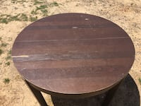 Dining table. Has a few scratches-in photos.  Greenwood