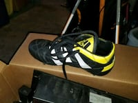 Rugby soccer cleats boot Adidas leather new sz7