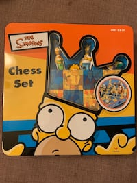 The Simpsons Chess Set. Only played once.
