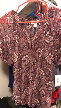 Women's Floral Blouse 2226 mi