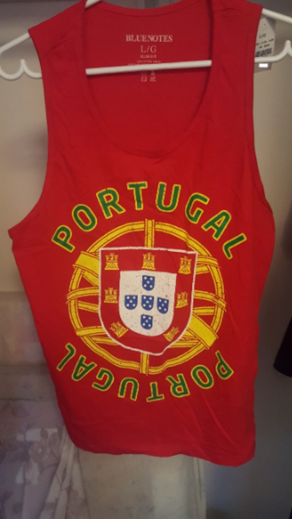 best service a4139 b0778 Portugal national soccer team tank top NEW (LARGE) - Cristiano Ronaldo  Benfica FC Porto Sporting CP