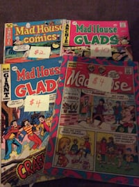 JUST REDUCED comics Mad House