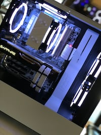 Design² White Walker Build Gaming Streaming Computer