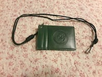 leather ID necklace case(new) McLean, 22101
