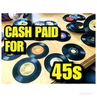 buying 45 rpm records Durham