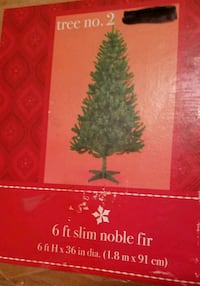6 Ft Christmas Tree with Plastic Stand  Lorton, 22079